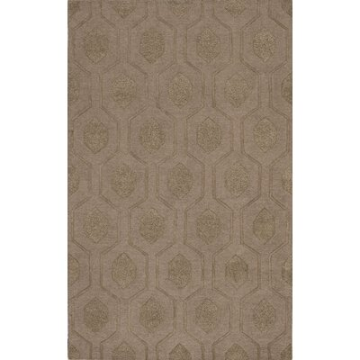 Tones Mocha Area Rug Rug Size: Rectangle 9 x 13