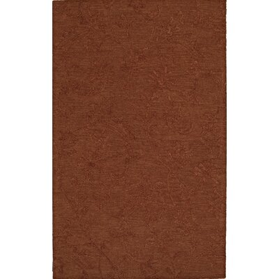 Tones Paprika Area Rug Rug Size: Rectangle 9 x 13