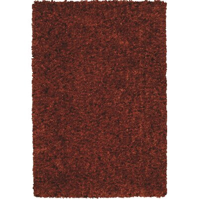 Tyreek Terra Cotta Area Rug Rug Size: Rectangle 9 x 13