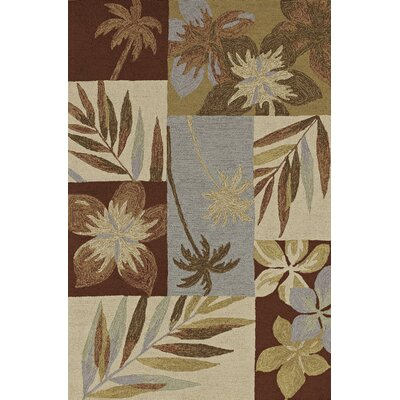Terrace Chocolate Area Rug Rug Size: 9 x 13