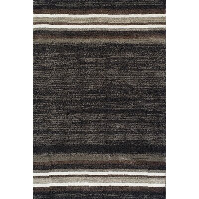 Gilda Midnight Area Rug Rug Size: Rectangle 53 x 77