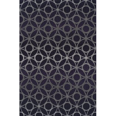 Tempo Plum Area Rug Rug Size: Rectangle 9'6