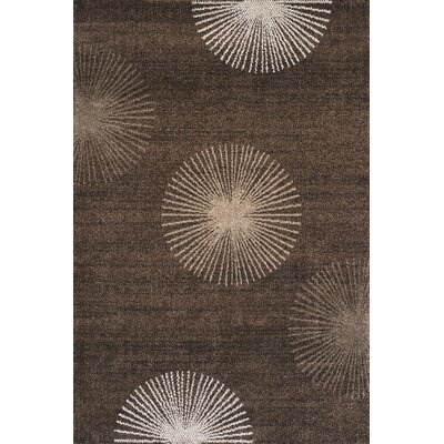Royalston Espresso Area Rug Rug Size: Rectangle 96 x 132
