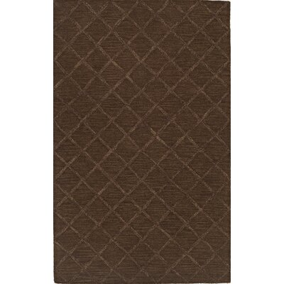 Tones Fudge Area Rug Rug Size: Rectangle 9 x 13
