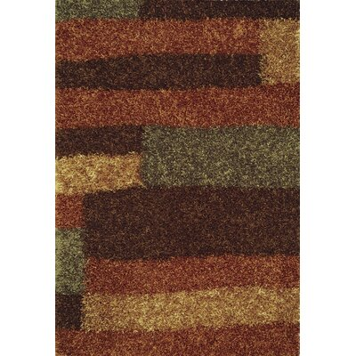 Dominque Copper Area Rug Rug Size: Rectangle 8 x 10