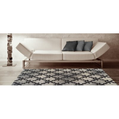Tempo Linen Area Rug Rug Size: Rectangle 53 x 77