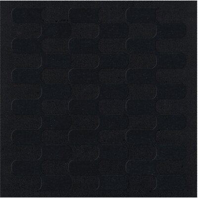Dover Black Area Rug Rug Size: Square 6'