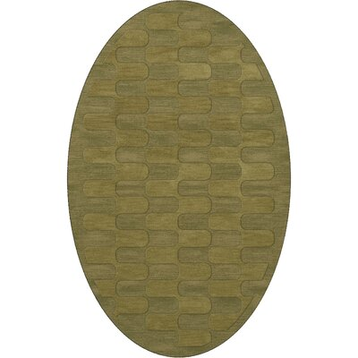 Dover Pear Area Rug Rug Size: Oval 4 x 6