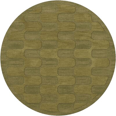 Dover Pear Area Rug Rug Size: Round 8'