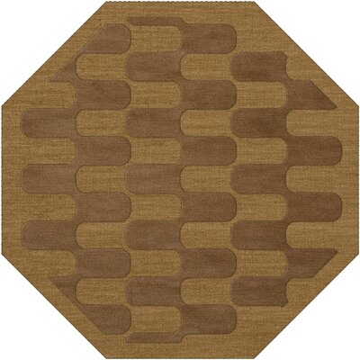Dover Gold Dust Area Rug Rug Size: Octagon 6