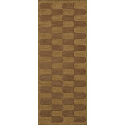 Dover Gold Dust Area Rug Rug Size: Runner 26 x 8