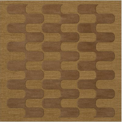 Dover Gold Dust Area Rug Rug Size: Square 10
