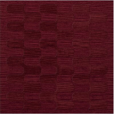 Dover Rich Red Area Rug Rug Size: Square 12'