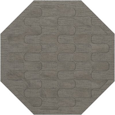 Dover Silver Area Rug Rug Size: Octagon 10