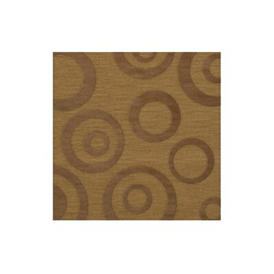 Dover Tufted Wool Gold Dust Area Rug Rug Size: Square 4