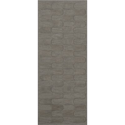 Dover Silver Area Rug Rug Size: Runner 26 x 10