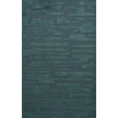 Dover Teal Area Rug Rug Size: Rectangle 9 x 12