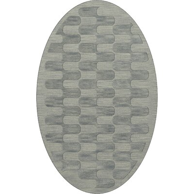 Dover Sea Glass Area Rug Rug Size: Oval 6 x 9