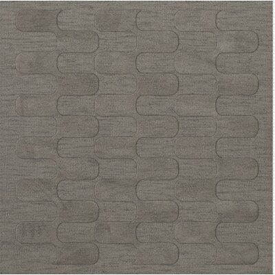 Dover Silver Area Rug Rug Size: Square 4'