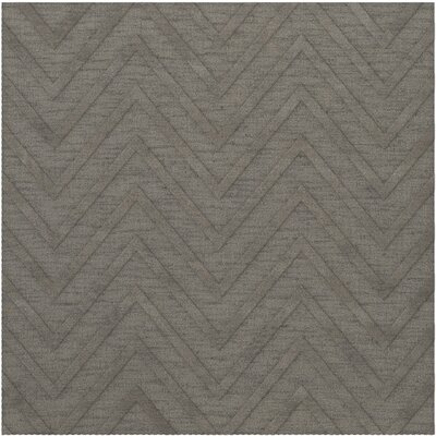 Dover Tufted Wool Silver Area Rug Rug Size: Square 10'