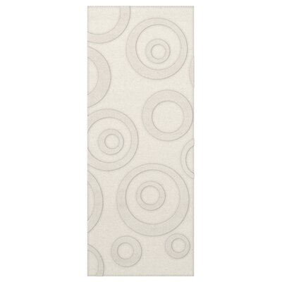 Dover Snow Area Rug Rug Size: Runner 26 x 12