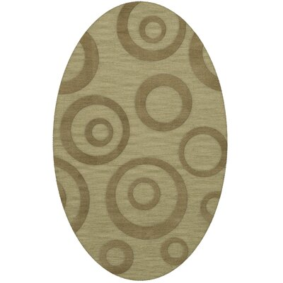 Dover Tufted Wool Marsh Area Rug Rug Size: Oval 3 x 5
