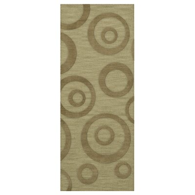 Dover Tufted Wool Marsh Area Rug Rug Size: Runner 26 x 8