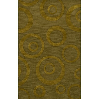 Dover Tufted Wool Avocado Area Rug Rug Size: Rectangle 3 x 5
