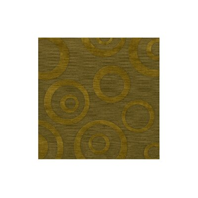 Dover Tufted Wool Avocado Area Rug Rug Size: Square 4