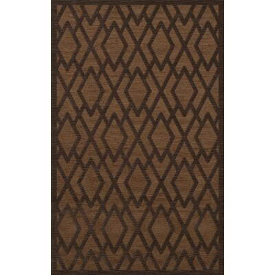 Dover Tufted Wool Caramel Area Rug Rug Size: Rectangle 5' x 8'