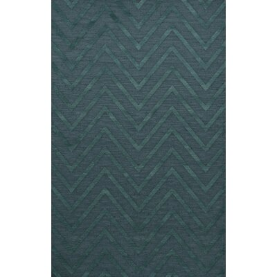 Dover Tufted Wool Teal Area Rug Rug Size: Rectangle 8 x 10