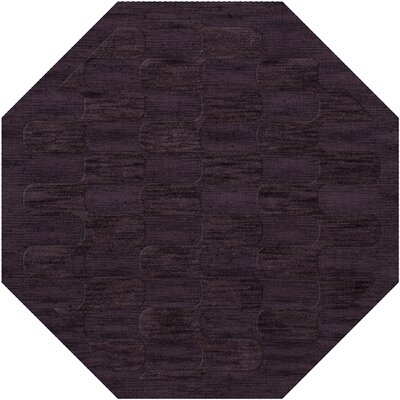 Dover Grape Ice Area Rug Rug Size: Octagon 12