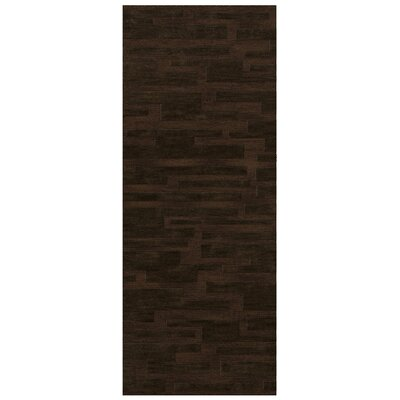 Dover Fudge Area Rug Rug Size: Runner 26 x 12