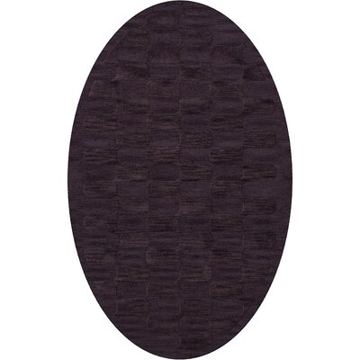Dover Grape Ice Area Rug Rug Size: Oval 6 x 9