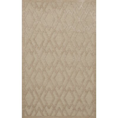 Dover Tufted Wool Linen Area Rug Rug Size: Rectangle 4 x 6