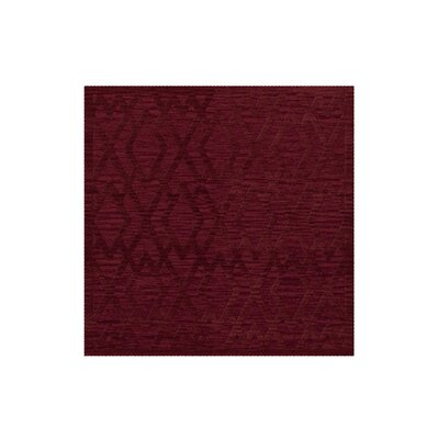 Dover Tufted Wool Rich Red Area Rug Rug Size: Square 4