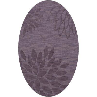 Bao Viola Area Rug Rug Size: Oval 4 x 6