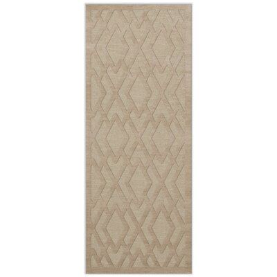 Dover Tufted Wool Linen Area Rug Rug Size: Runner 26 x 10