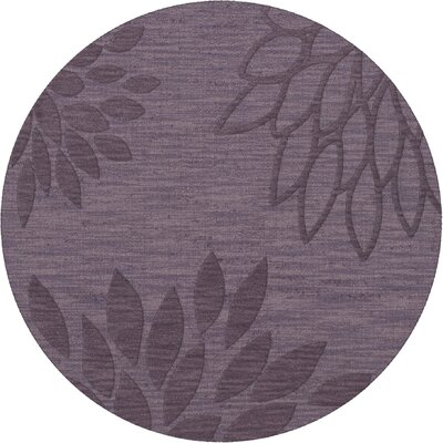 Bao Viola Area Rug Rug Size: Round 6