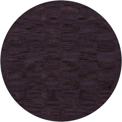 Dover Grape Ice Area Rug Rug Size: Round 8