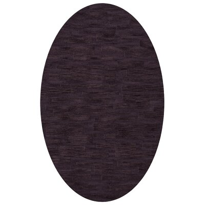 Dover Grape Ice Area Rug Rug Size: Oval 5 x 8