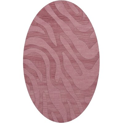 Dover Tufted Wool Bubblishous Area Rug Rug Size: Oval 3 x 5