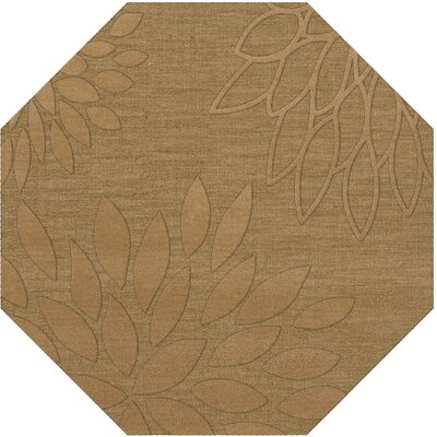 Bao Wheat Area Rug Rug Size: Octagon 8