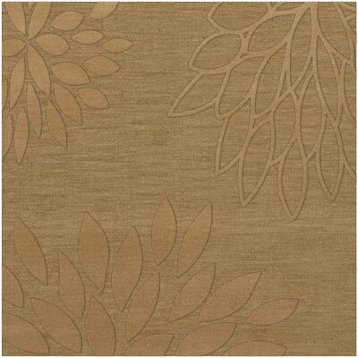 Bao Wheat Area Rug Rug Size: Square 12