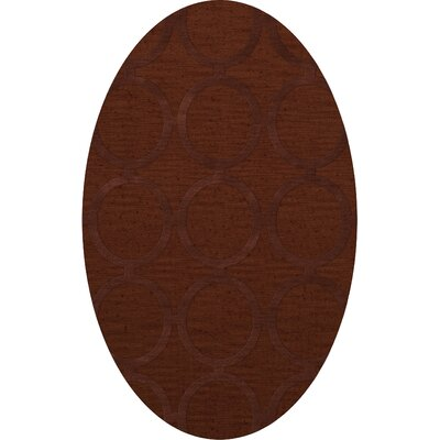Dover Paprika Area Rug Rug Size: Oval 10 x 14
