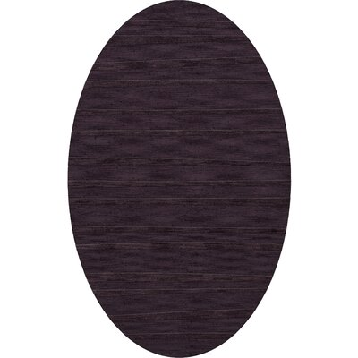 Dover Grape Ice Area Rug Rug Size: Oval 12 x 15