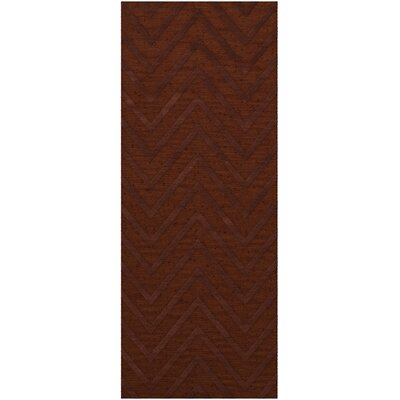Dover Tufted Wool Paprika Area Rug Rug Size: Runner 26 x 10