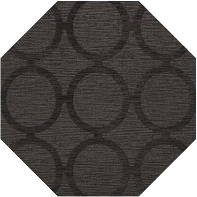 Dover Tufted Wool Ash Area Rug Rug Size: Octagon 10