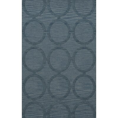 Dover Tufted Wool Sky Area Rug Rug Size: Rectangle 9 x 12
