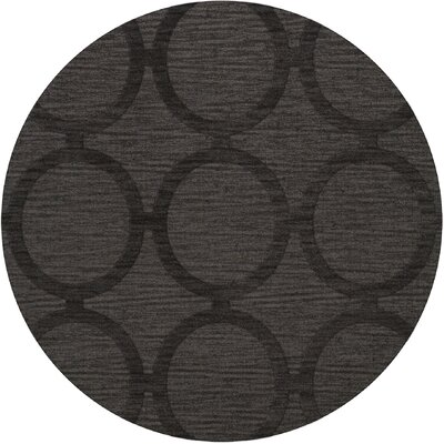 Dover Ash Area Rug Rug Size: Round 12
